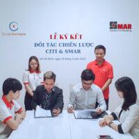 Lễ ký kết Đối tác Chiến Lược giữa Citi & Partners cùng Smar ngày 17/09/2020